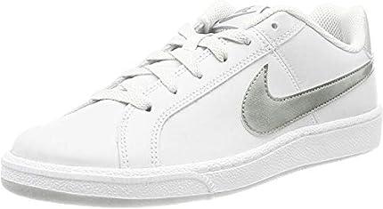 Nike Court Royale, Zapatillas para Mujer, Blanco (White / Metallic Silver), 40 EU