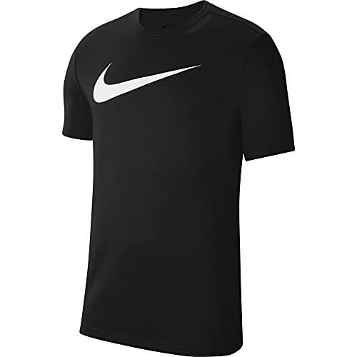 Nike Park 20, Maglietta Uomo, Nero Bianco, S