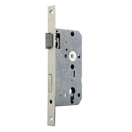 BMH Einsteckschloss Nr. 2 | Klasse 3 | Für Zimmertüren | vorgerichtet für Profilzylinder (DIN links)