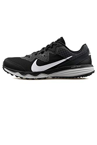 Nike Juniper Trail, Zapatillas para Correr de Carretera para Hombre, Black/White/Dk Smoke Grey/Grey, 44.5 EU