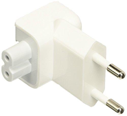 aiino - Charger Plug Compatible avec le Chargeur pour Macbook, iPhone et iPad, Accessoire qui Permet une Charge Ultra Rapide - Blanc