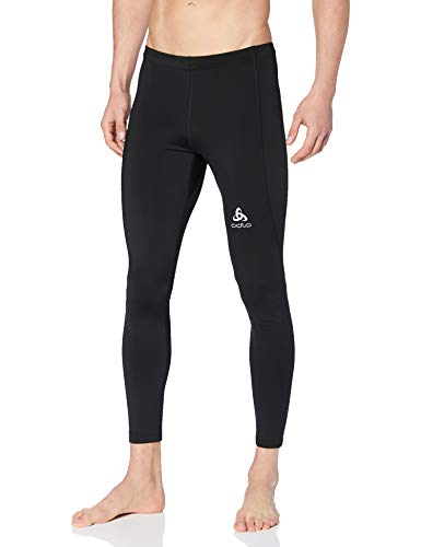Odlo Tights Element Warm Trousers Homme Black FR: M (Taille Fabricant: M), Noir