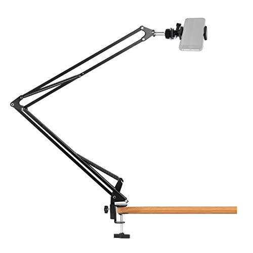 Overhead Phone Holder,Gopro Phone Mount Stand for iPhone,Gopro,Samsung,Live Streaming,Baking,Crafting,Videos,Calligraphy,Cooking,Online Course - Acetaken