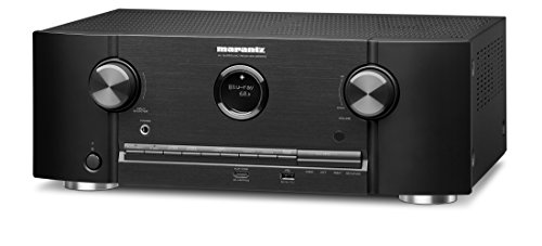 Marantz SR5012 7,2 - Amplificador de Potencia de Canal e integración de HEOS (compatibilidad de visión Dolby, WLAN, Bluetooth, AirPlay, Spotify Connect, Streaming de Audio de Red, 7 x 180 W)