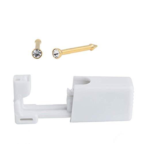 tJexePYK 2 Conjunto desechable Nariz Oreja Piercing Pistolas de Seguridad Piercing Pistola Oreja Stud Kit del Arma para Chicos, Chicas Hombres Mujeres