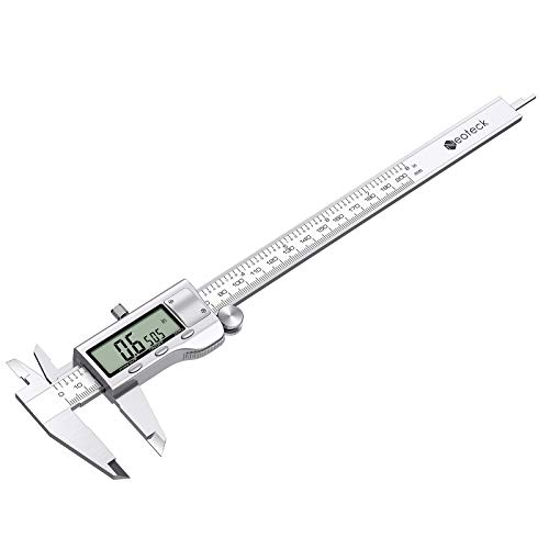 Neoteck 8 inch Digital Caliper, Stainless Electronic Calipers Measuring Tool, Fractions/inch/Millimeter Conversion - [Upgrade]