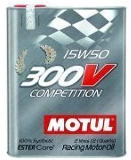 Motul 103138 Synthetic Racing Oil - 2 Liter