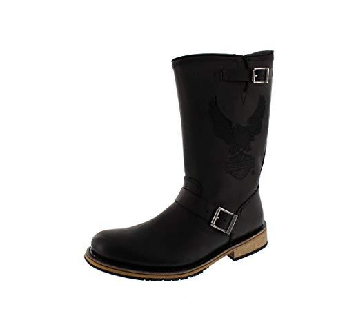 Harley Davidson Men - Boots CLINT - black, Schuhgröße:EUR 45