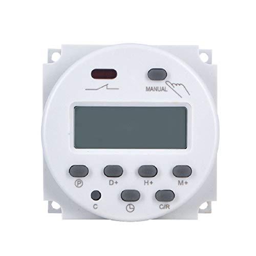 Kleine microcomputer-timer schakelvermogen digitale LCD Power Timer Programmeerbare timer Relais Timer 220 V