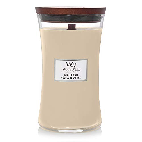 WoodWick 5038581054766 Candle Large Vanilla Bean 93112E, one Size