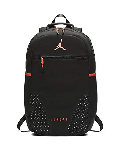 Nike Air Jordan Retro 6 Backpack (One Size, Black/Infrared)