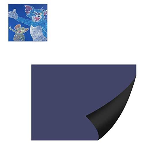 ZCX Autoadesivo da Parete della Lavagna Autoadesivo Magnetico Allenamento con scribabile Removibile Decorazione della casa Decorazione dell'annuncio Display per Bambini Bacheche messaggi e insegne