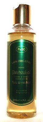 100% huile de patchouli Bio – L'Excès de courroie Huile pour la peau – Huile anti-âge – Huile pour cheveux – Body Oil- par P + 50 – sans parfum