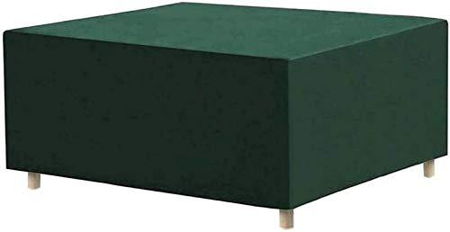 Pillowcase Cubiertas para Muebles de jardín 150x150x30cm, Caja de Arena para Exteriores Cubierta para Pozo de Arena Tela Oxford Cubierta Impermeable a Prueba de Polvo para Piscina, Rectángulo