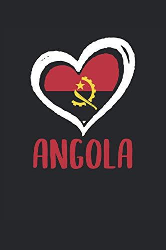 Terminplaner 2021: Terminkalender für 2021 mit Angola Fahne Cover   Wochenplaner   elegantes Softcover   A5   To Do Liste   Platz für Notizen   für Familie, Beruf, Studium und Schule