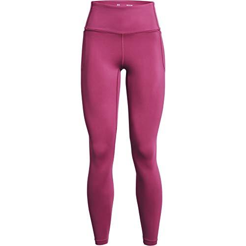 Under Armour Women's Meridian Leggings , Pink Quartz (678)/Metallic Silver , X-Large