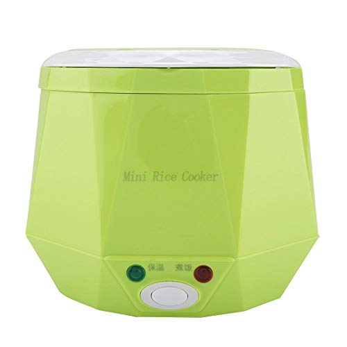Vaporizador de alimentos, 24V 180W 1.3 L Eléctrico Portátil Multifuncional Mini Olla...