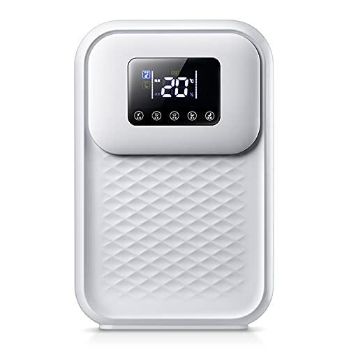 EYCIEROT Deumidificatore Mini deumidificatore Elettrico Portatile Filtro dell'Aria Ultra Silenzioso per casa, Cucina, Garage, Guardaroba, Cantina