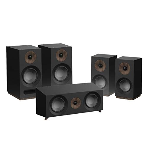 Jamo S 803 HCS 5.0Kanäle Schwarz Lautsprecherset - Lautsprechersets (5.0 Kanäle, Heimkino, Schwarz, AC)