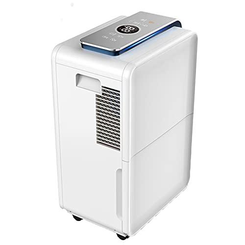 ZYQDRZ Household Dehumidifier, Silent Dehumidifier 4 Dehumidification Modes, Can Quickly Remove Moisture, Suitable for Home/Industrial Basement/Closet/Bedroom/Bathroom