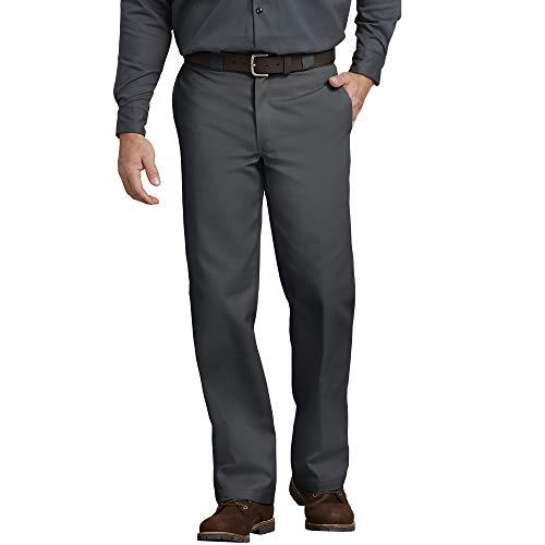 Dickies Slim Straight Work, Pantaloni Uomo, Grigio (Charcoal Grey), W29/L30