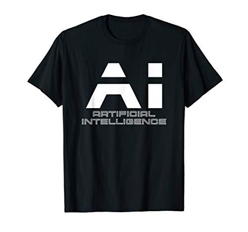 Artificial Intelligence - AI Künstliche Intelligenz   weiß T-Shirt