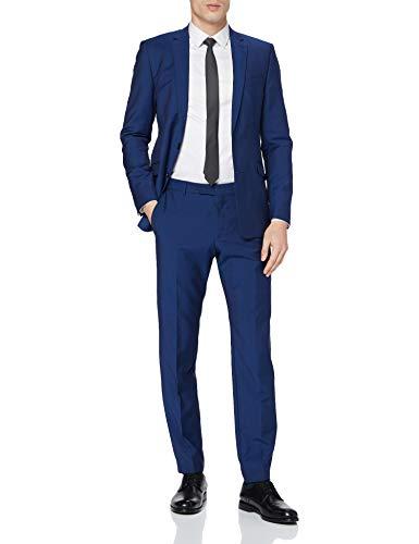 Strellson Premium Herren Allen-Mercer2.0 12 Anzug, Blau (Turquioseaqua 444), 52