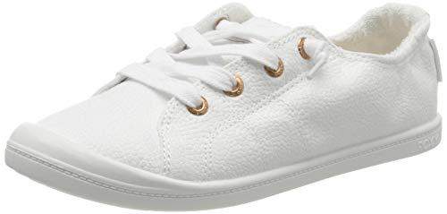 Roxy Damen BAYSHORE Sneaker, Weiß (White/Aurora Hau), 38 EU