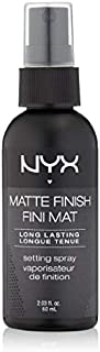 بخاخ مثبت للمكياج NYX Cosmetics Make Up Setting Spray, Matte Finish/Long Lasting, 2.03 Ounce