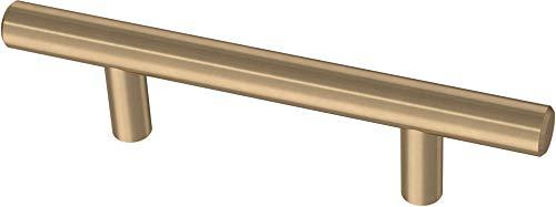 "Franklin Brass BAR076Z-CZ-B Bar 3 Inch Cabinet Pull, 3"" (76mm), 10-Pack, Champagne Bronze"