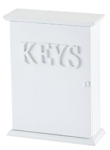 Frische, weiße Schlüsselkasten