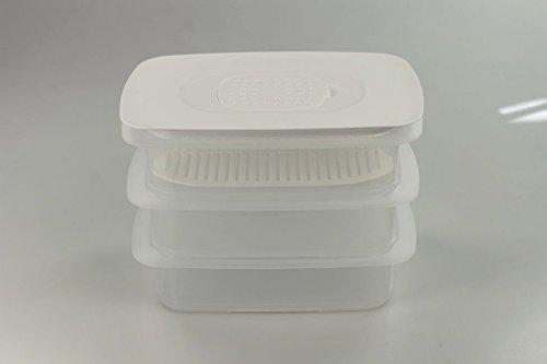 TUPPERWARE Cool`N Fresh 1,5L (3) Behälter+Frischegitter + Klimadeckel P 22190