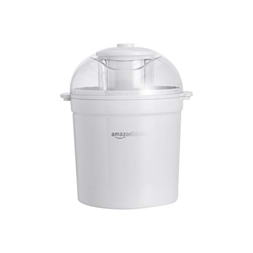 AmazonBasics 1.5 Quart Automatic Homemade Ice Cream Maker