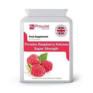 Raspberry Super Strength 600mg - 60 Kapseln - UK Hergestellt von Prowise Healthcare
