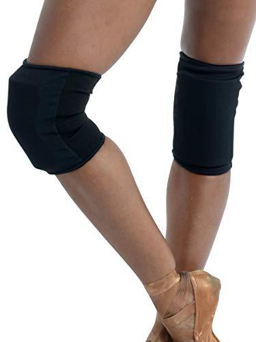 Adult Knee Pads for Dancers, Medium, Black
