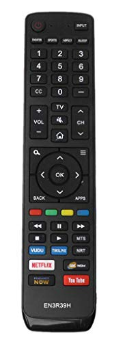 New EN3R39H Remote Control Replaced for Hisense LCD LED 4K Smart TV