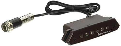 Skysonic Passive Acoustic Guitar Sound hole Pickup Humbucker A-810,Clear Sound with Tone and Volume Control