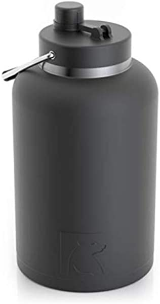 RTIC One Gallon Vacuum Insulated Jug Black