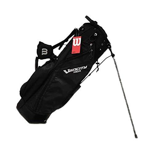 Wilson WGB4715BL Lightweight Weatherproof Velocity HDX Carry Bag w/ Shoulder Strap & 8 Dividers,...