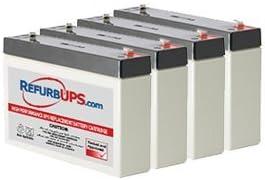 APC Smart-UPS 750 Rack Mount (SUA750RM1U) Compatible Replacement Battery Kit