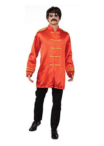 Bristol Novelty AC413A SGT Pepper Budget Jacket, Red, Standard