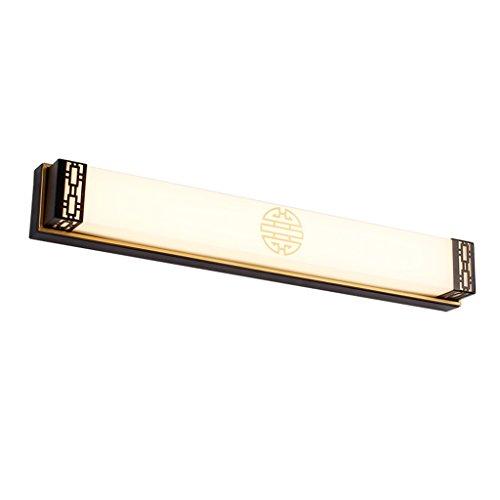 Lámpara Luz de espejo LED, lámpara de espejo de baño de maquillaje Lámpara de baño, dormitorio, armario y mesa de maquillaje Luces de baño (Color : White light)