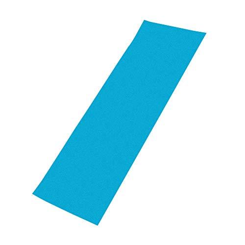 SUNERLORY Cinta de Agarre Patinetas Cubierta Sin Burbujas Etiqueta Piezas rugosas Papel de Lija PVC Hoja Perforada Scooter eléctrico Antideslizante Profesional(Azul)