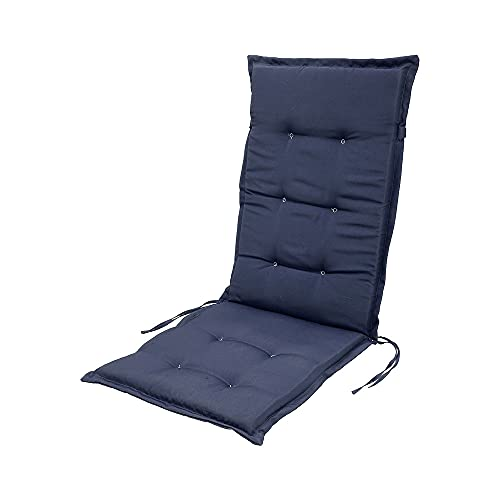 willstar Rocking Chair Cushion, Outdoor Sun Seat Pad, High Back Chair Cushion Replacement Sunbed Cushion Cover Recliner Pads Cushion Sofa Cover Mat for Outdoor Travel Garden 47×20 Inch (Navy)
