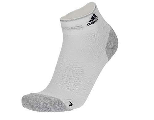 Adidas Unisex Running Energy Climacool Socken, S96266, Weiß-Grau-Schwarz, 43/45