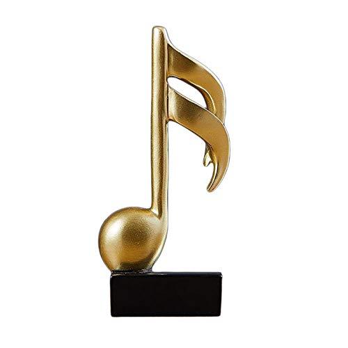 non_brand Música Escultura Adorno Estatuilla Estatua Accesorios para Fotos Oficina Escritorio Decoración C