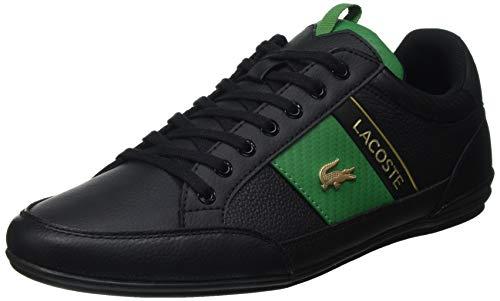 Lacoste Herren Chaymon 0120 1 CMA Sneaker, Schwarz Blk Grn, 45 EU