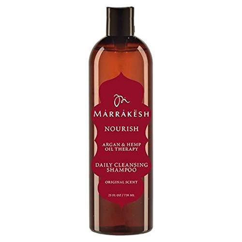 Marrakesch Oil, nährendes Reinigungsshampoo für tägliche Anwendung, Originalgröße 739 ml