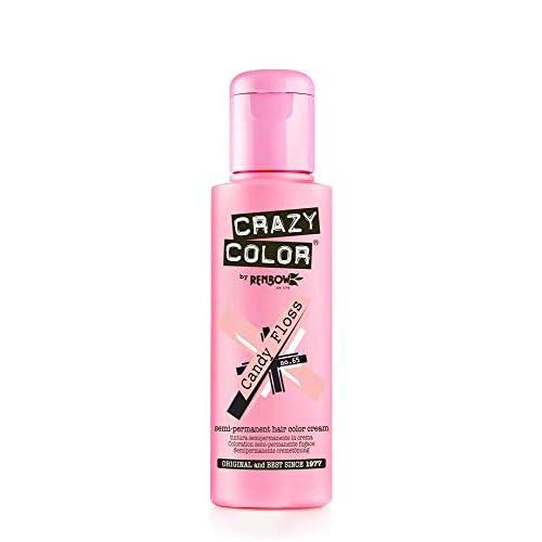 Crazy Color Crema Colorante Vegetale per Capelli , Candy Floss - 100 ml