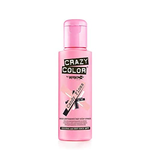 Crazy Color Crema Colorante Vegetale per Capelli , Candy Floss - 100 ml